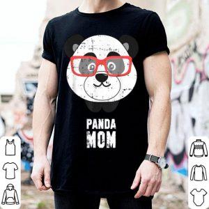Official Nerdy Panda Mom Cute Mama Bear Funny Christmas Gift shirt