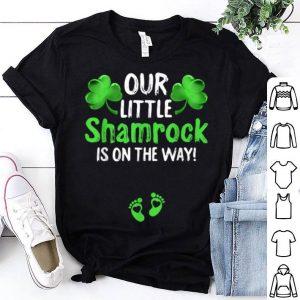 Original Matching Couple Pregnancy Announcement St Patricks Day Gift shirt