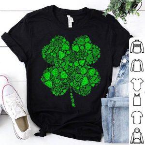Premium Irish Shamrock Green Jewelry Lucky Clover - St Patrick's Day shirt