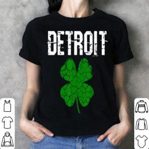Premium St. Patrick's Day Shamrock Detroit Michigan Irish Men Women shirt