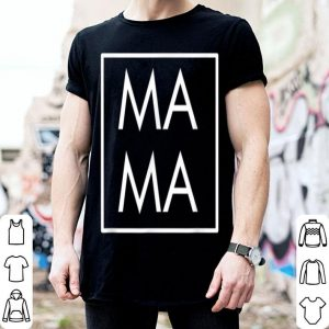 Pretty Mama Modern Boxed Square Mom, Matching Dada Family Gift shirt