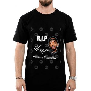 RIP Crenshaw Nipsey Hussle signature return if possible shirt