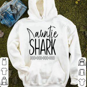 Top Auntie Shark Doo Doo For Women Aunt Mother's Day Gift shirt