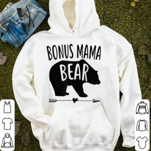 Top Bonus Mama Mom Bear Stepmom Mother's Day Gift shirt