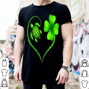 Top St. Patrick Day Irish Heart Turtle And Shamrock Lucky shirt