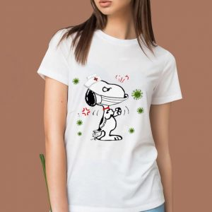 Awesome Nurse Snoopy And Woodstock Face Mask Coronavirus shirt