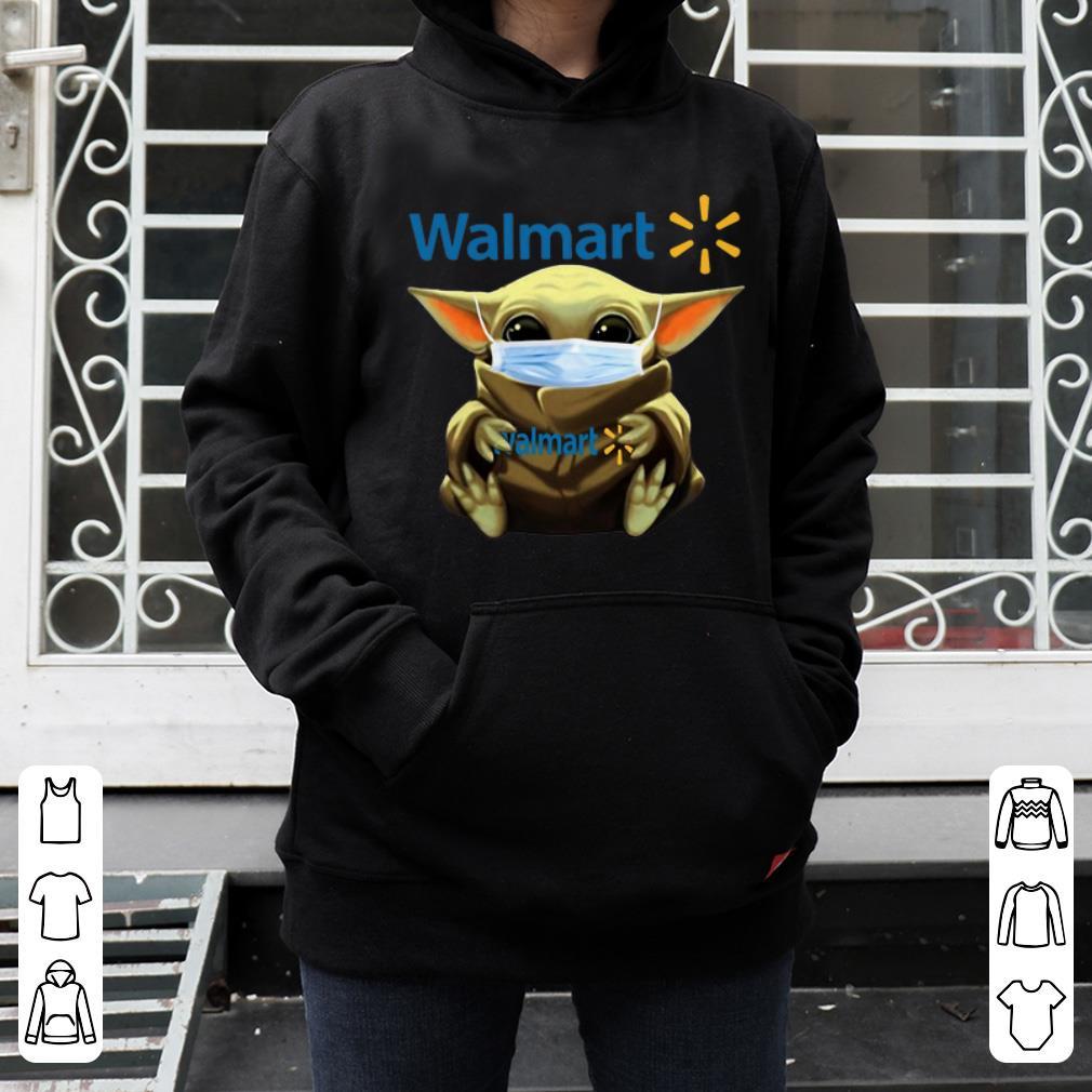 Great Star Wars Baby Yoda Mask Hug Walmart Covid 19 shirt 4 - Great Star Wars Baby Yoda Mask Hug Walmart Covid-19 shirt