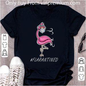 Official Flamingo Mask #flarantined Covid-19 shirt
