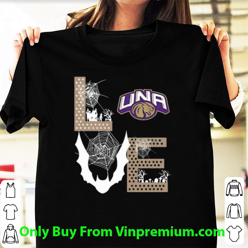 Great Love Una Lions Football Cobweb shirt
