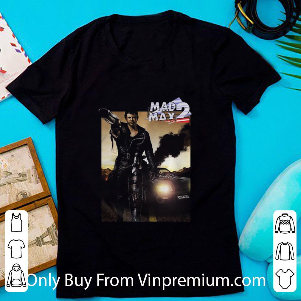 Awesome Mad Max 2 Road Holding Gun shirt