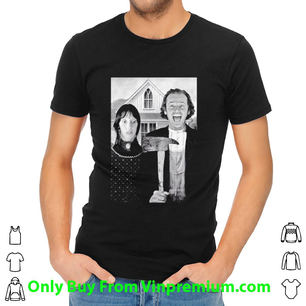 Awesome The Shining Jack Torrance And Wendy Torrance shirt