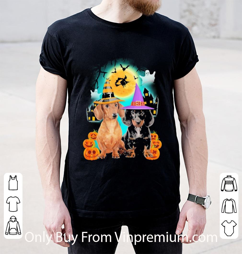 Hot Dachshund Halloween shirt