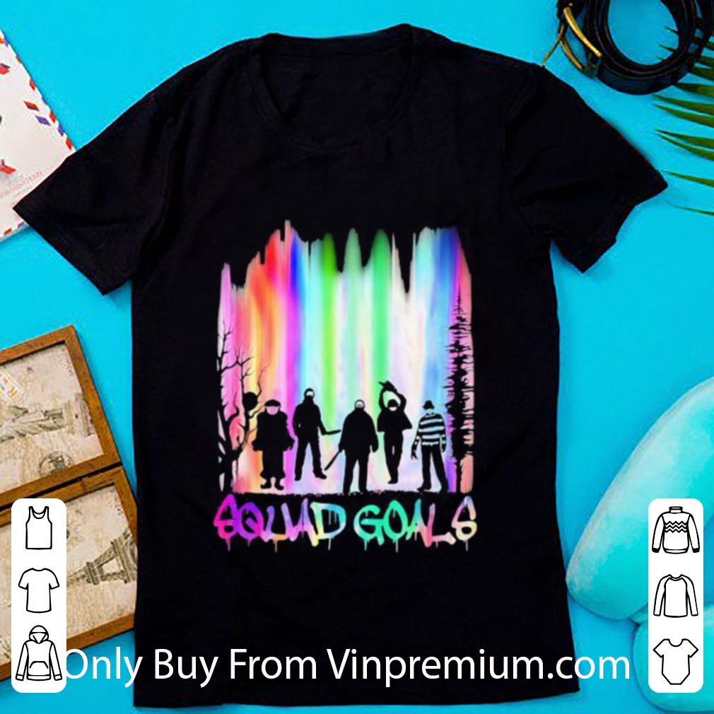 Great Halloween Horror Characters Squad Goals Mountain shirt