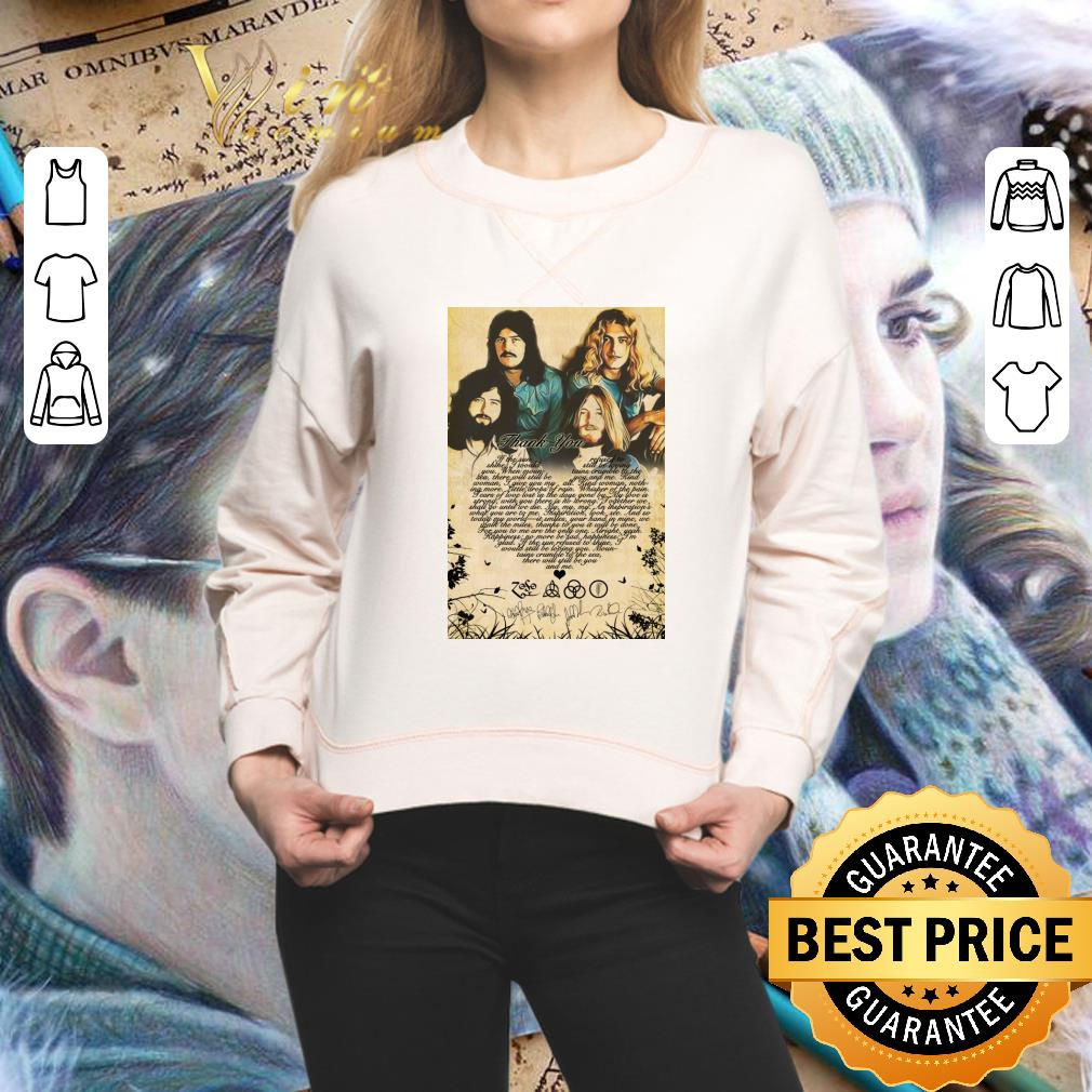 Awesome Led Zeppelin band Poster shirt