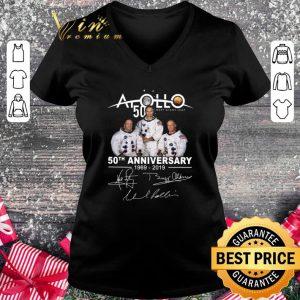 Premium Apollo 50 Next Giant Leap 50th Anniversary 1969-2019 Signatures shirt 1