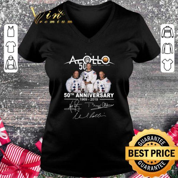 Premium Apollo 50 Next Giant Leap 50th Anniversary 1969-2019 Signatures shirt
