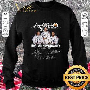 Premium Apollo 50 Next Giant Leap 50th Anniversary 1969-2019 Signatures shirt 2