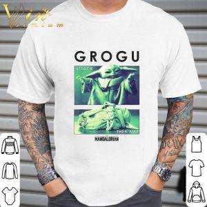 Star Wars Baby Yoda Grogu Attack Then Nap R14 The Mandalorian shirt 1