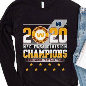 2020 NFC East Division Champions Washington Football Team Logo shirt 3