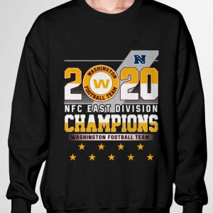 2020 NFC East Division Champions Washington Football Team Logo shirt 2