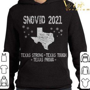 2021 Snovid Survivor Texas Strong Texas Tough Texas Proud shirt 3