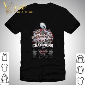 Coach and Team Tampa Bay Buccaneers Super Bowl LIV Champions 2021 Signatures Shirt