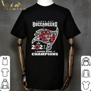 Logo Tampa Bay Buccaneers LIV 2021 Super Bowl Champions shirt
