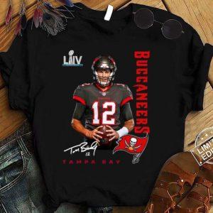 Best 12 Tom Brady Tampa Bay Buccaneers Super Bowl NFC Champions Shirt