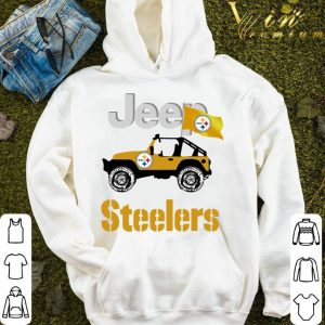 2021 Jeep Flag Pittsburgh Steelers NFL shirt 3