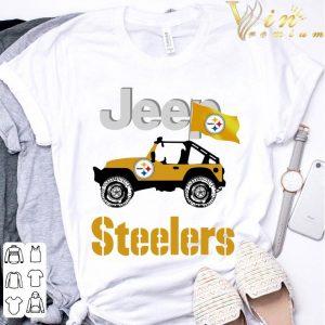 2021 Jeep Flag Pittsburgh Steelers NFL shirt 2