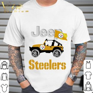 2021 Jeep Flag Pittsburgh Steelers NFL shirt 1