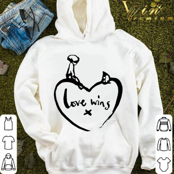 Love Wins T Shirt Comic Relief shirt