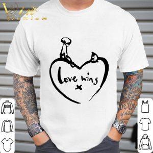 Love Wins T Shirt Comic Relief shirt 1