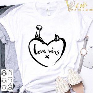 Love Wins T Shirt Comic Relief shirt 2