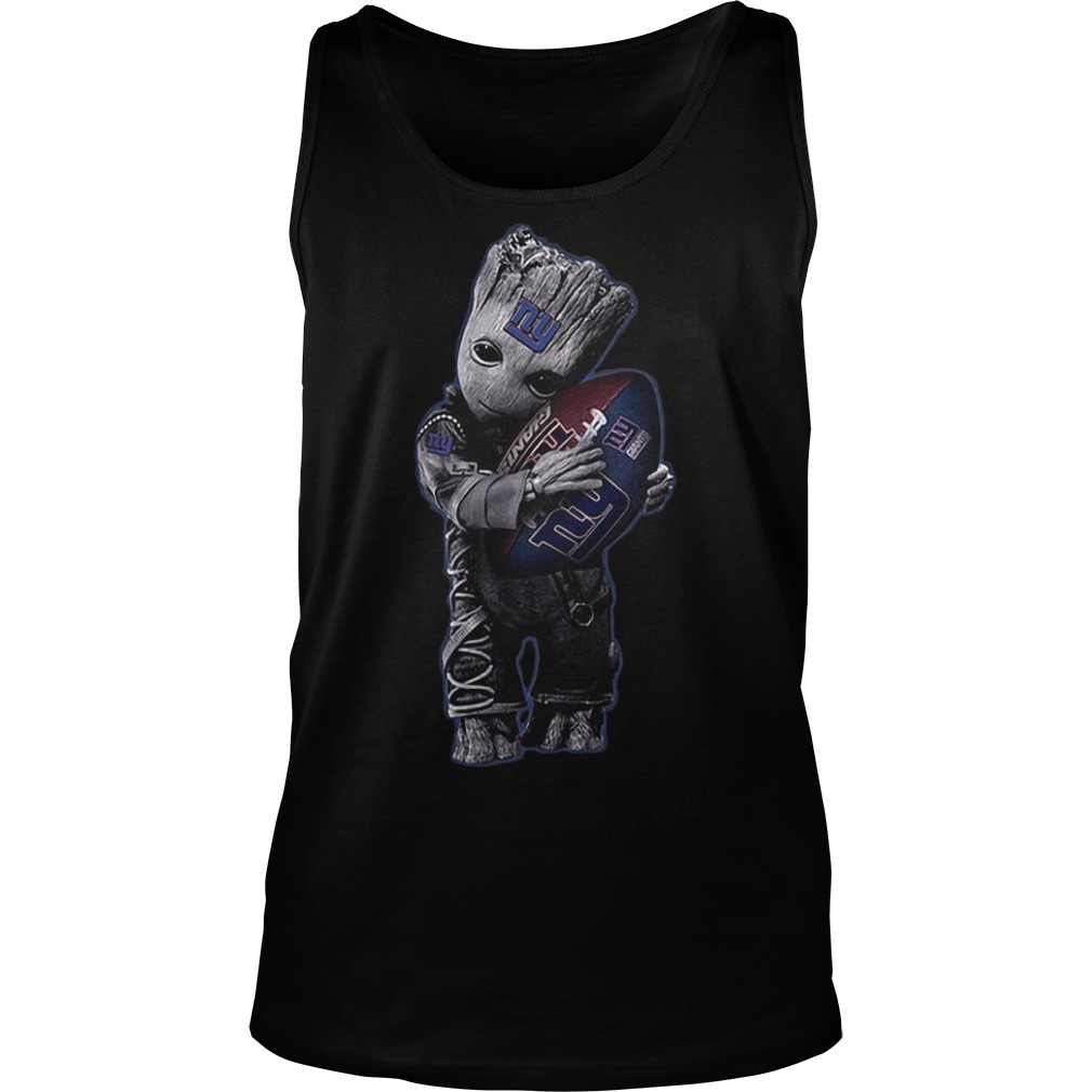 Baby Groot Hug New York Giants Football NFL T-Shirt Tank Top Unisex