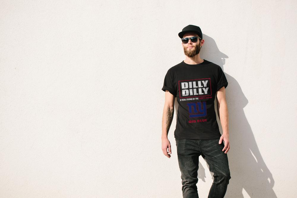 A True Friend Of The Giants Nation Dilly Dilly T-Shirt 2