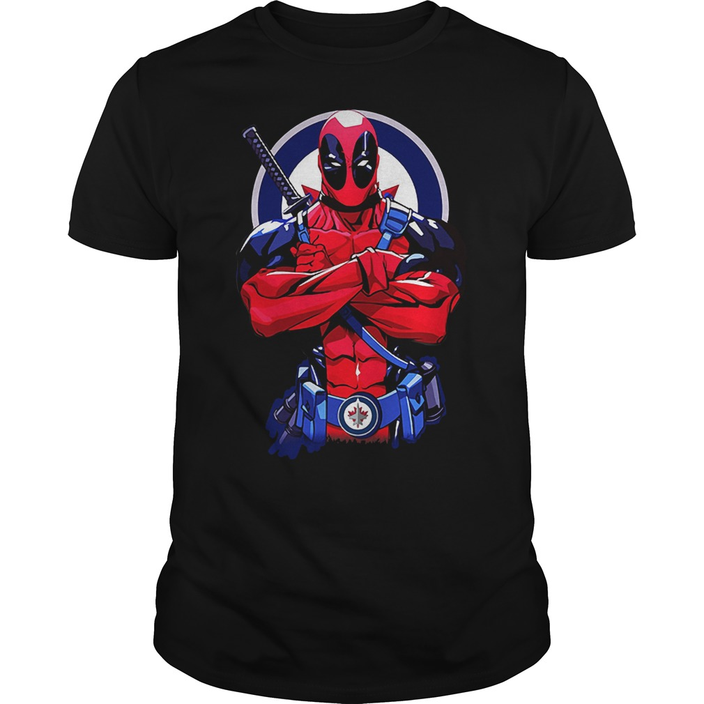 Giants Deadpool: Winnipeg Jets T-Shirt
