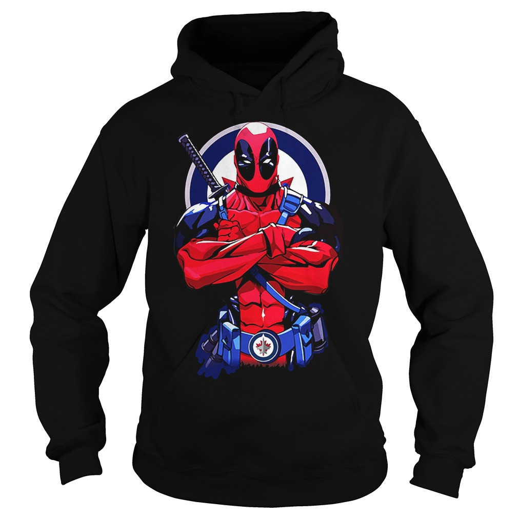 Giants Deadpool: Winnipeg Jets KTTEN2807 Hoodie