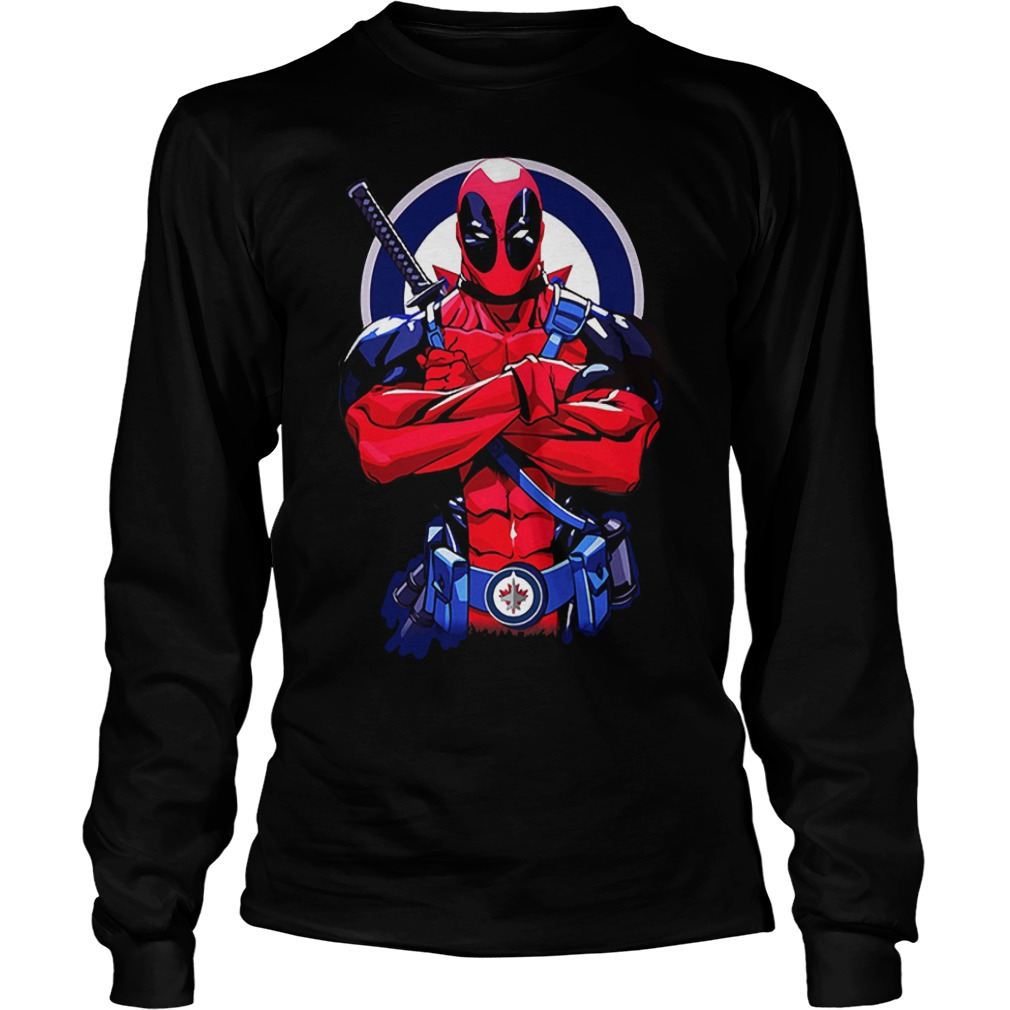 Giants Deadpool: Winnipeg Jets KTTEN2807 Longsleeve Tee Unisex