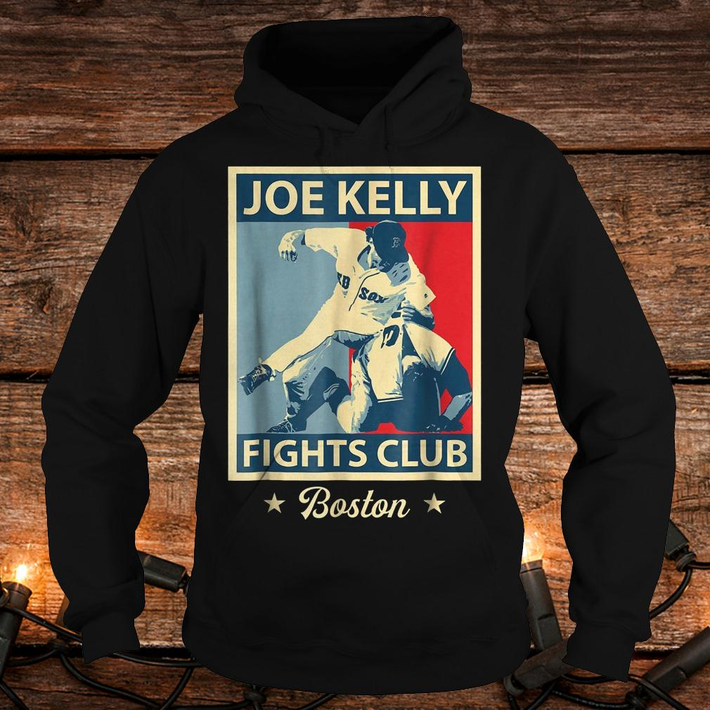 Baseball Joes-Kelly Boston Fights-Club shirt Hoodie