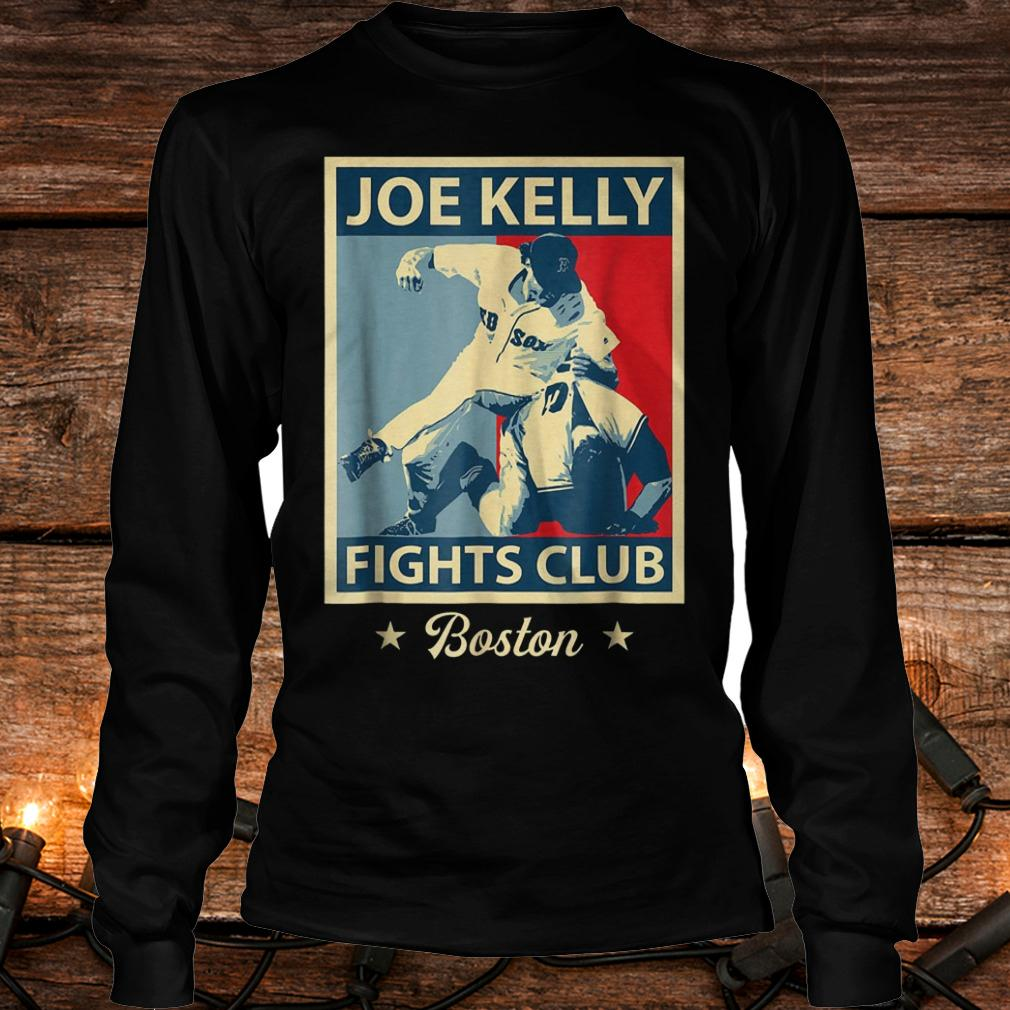 Baseball Joes-Kelly Boston Fights-Club shirt Longsleeve Tee Unisex