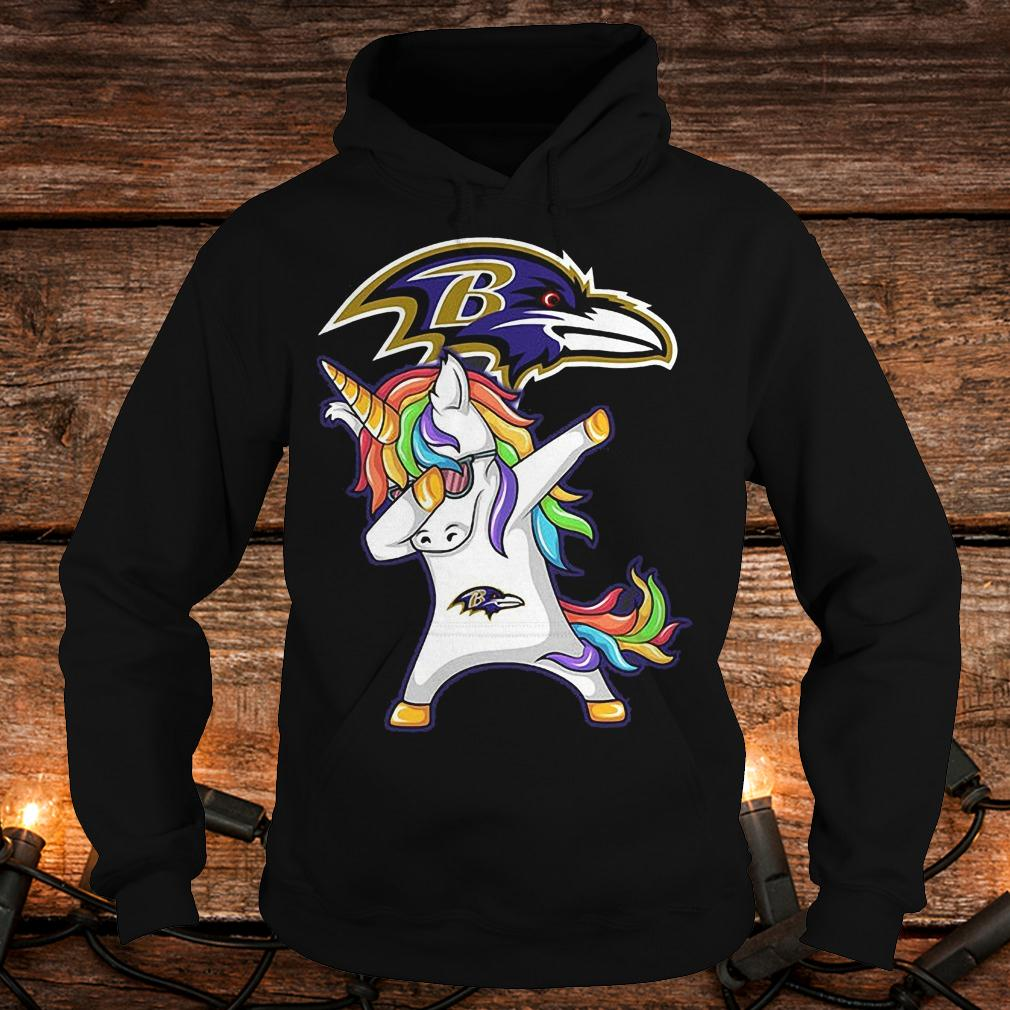 Dabbing hip hop unicorn Dab Baltimore Ravens shirt