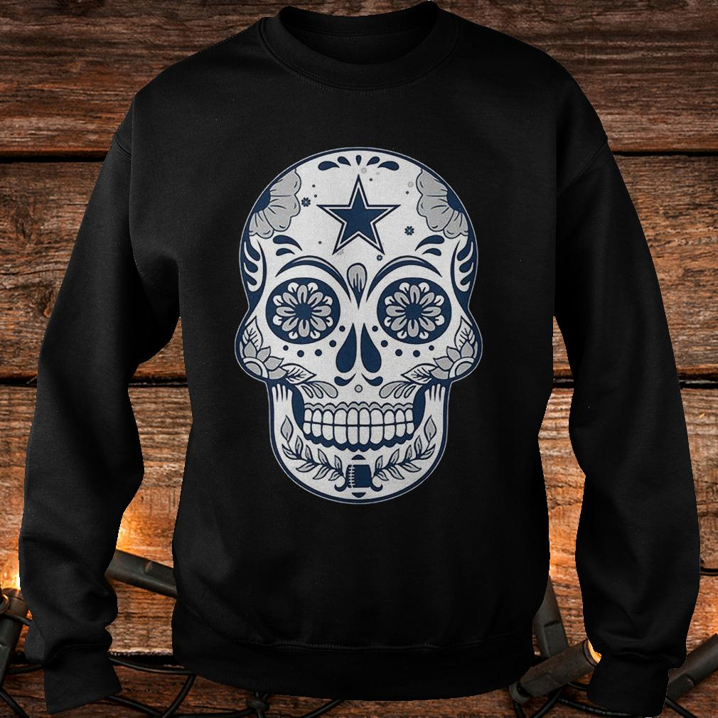 Dallas Cowboys sugar skull shirt