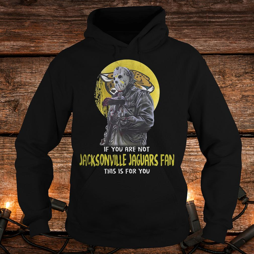 Jason Voorhees if you are not Jacksonville jaguars fan this is for you shirt