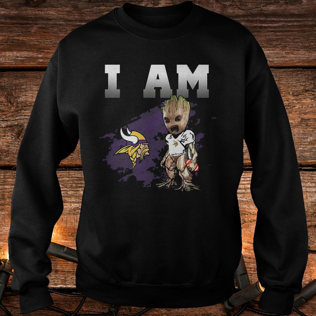 Minnesota Vikings: I Am Groot shirt
