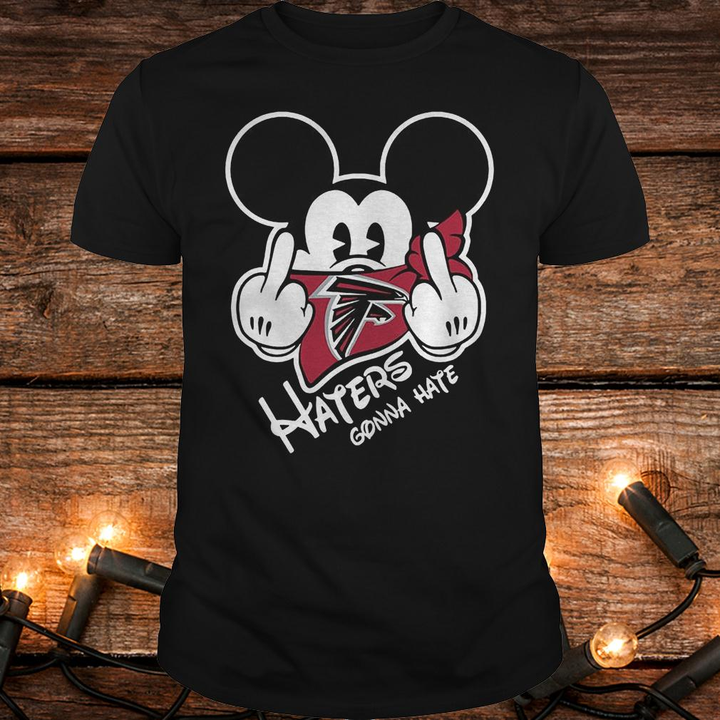 NFL Atlanta Falcons haters gonna hate Mickey Mouse shirt Classic Guys / Unisex Tee