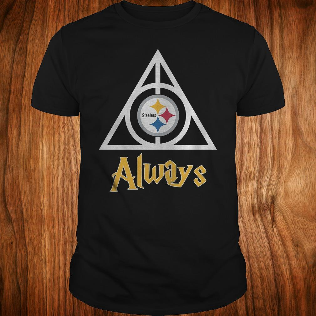 NFL Pittsburgh Steelers Deathly Hallows Always Harry Potter Shirt