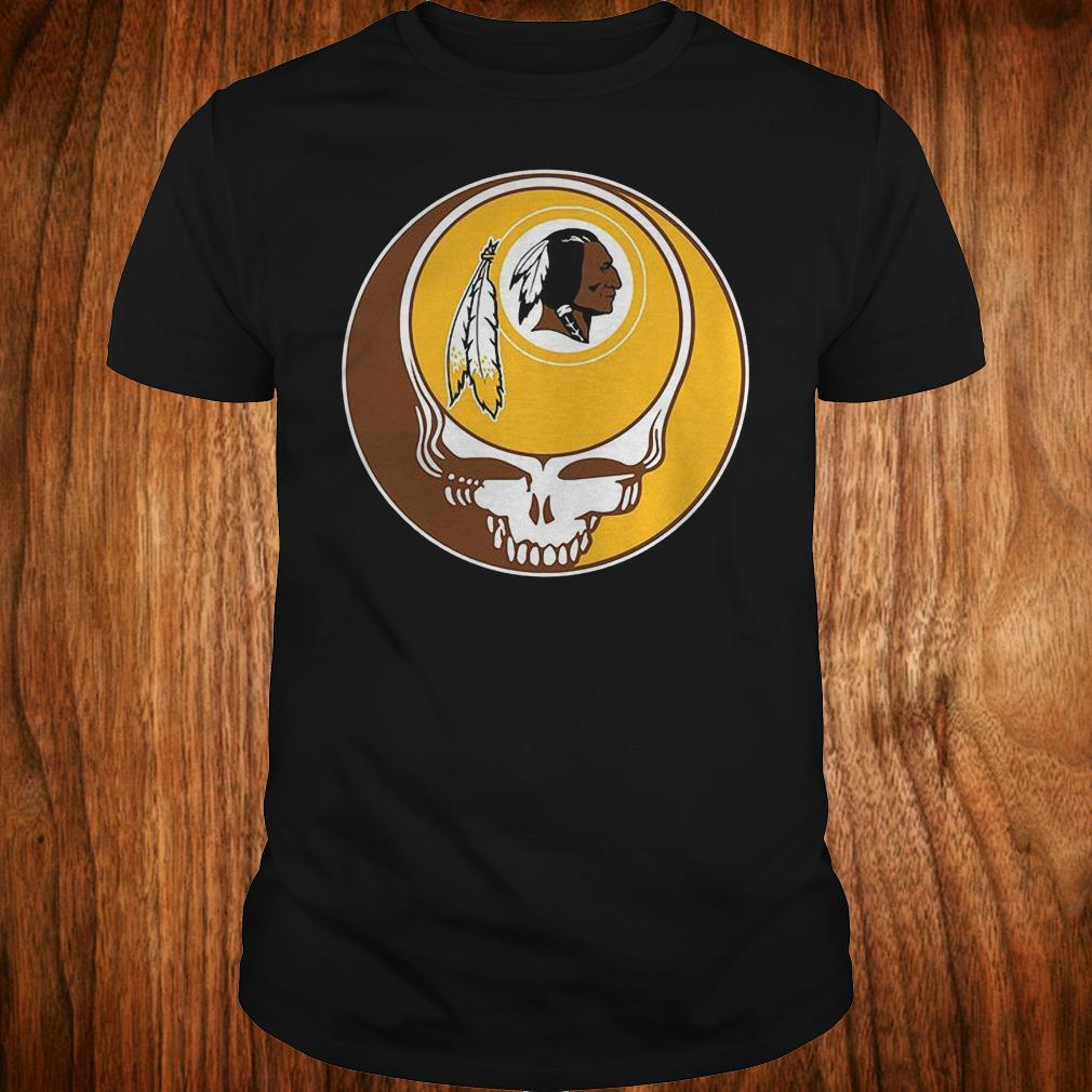 NFL Washington Redskins Grateful Dead Fan Fan Football Shirt