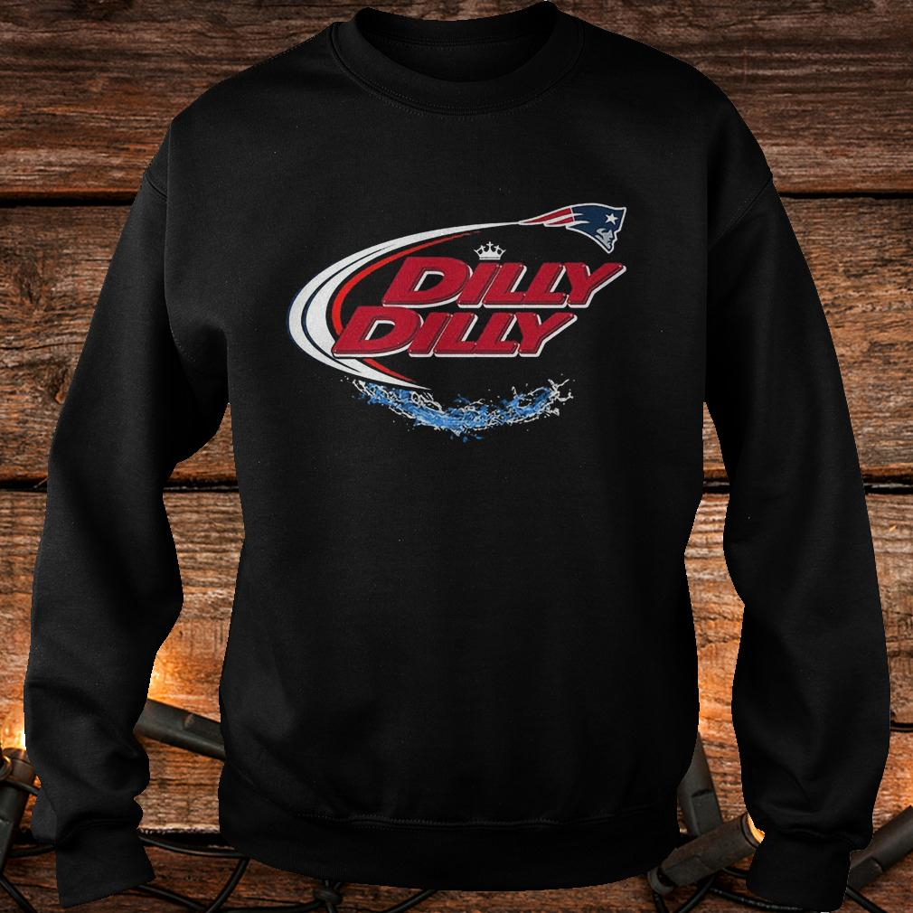 a932768ee New England Patriots Dilly Dilly bud light shirt