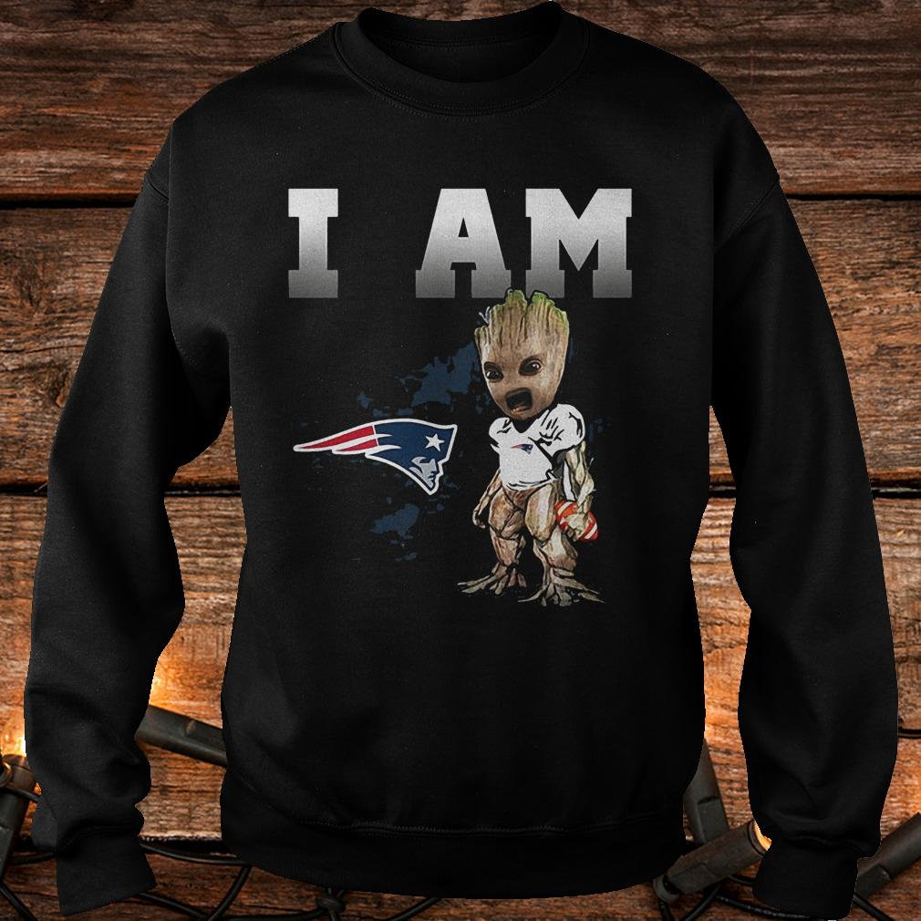 New England Patriots: I Am Groot shirt